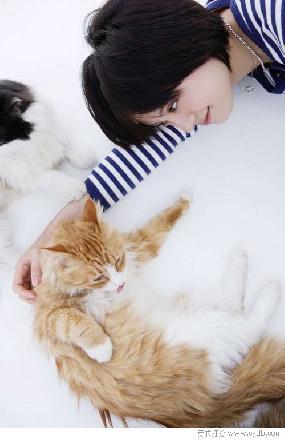 【和动物在一起时】